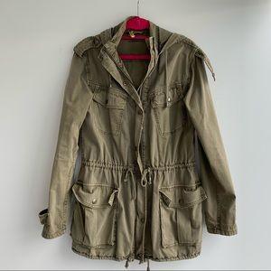 Aritzia Army Green Jacket